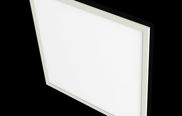 LED mennyezetvilágítás, négyszögletes panel 600×600 mm 45W 3600lm 3000K