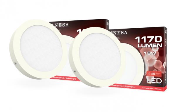 LED falon kívüli lámpatestek